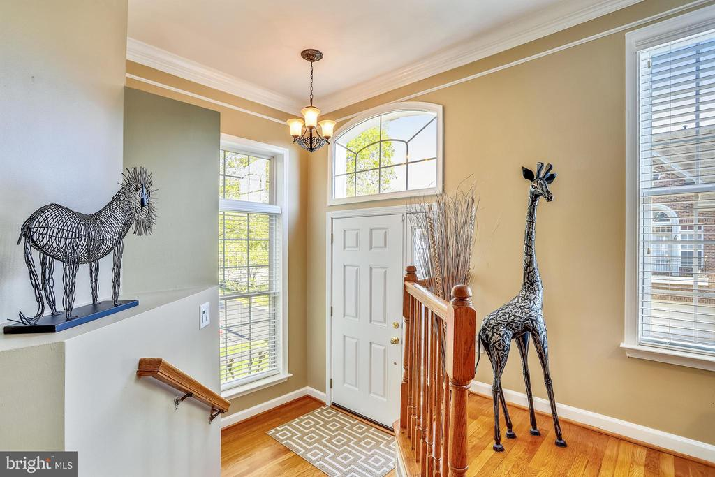 This bright Entry Foyer welcomes you home! - 1911 LOGAN MANOR DR, RESTON