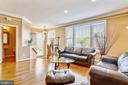 Open and Airy Main Level Formal Living Room - 1911 LOGAN MANOR DR, RESTON