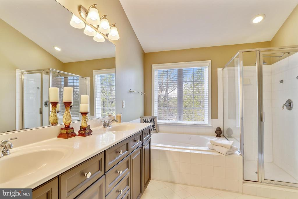 Enjoy you Beautiful Luxury Master Bath - 1911 LOGAN MANOR DR, RESTON
