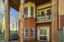 Lower Level 1 Balcony / Lower Level 2 Walkout - 1911 LOGAN MANOR DR, RESTON