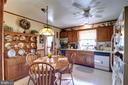 Kitchen from Living Room - 14460 MILLTOWN RD, LOVETTSVILLE
