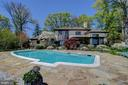 In-Ground Swimming Pool and Patio - 3905 BELLE RIVE TER, ALEXANDRIA