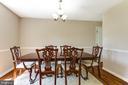 Formal Dining room - 4622 CLAYTON RD, WALDORF
