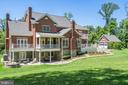 Rear of Home - 24020 LACEYS TAVERN CT, ALDIE