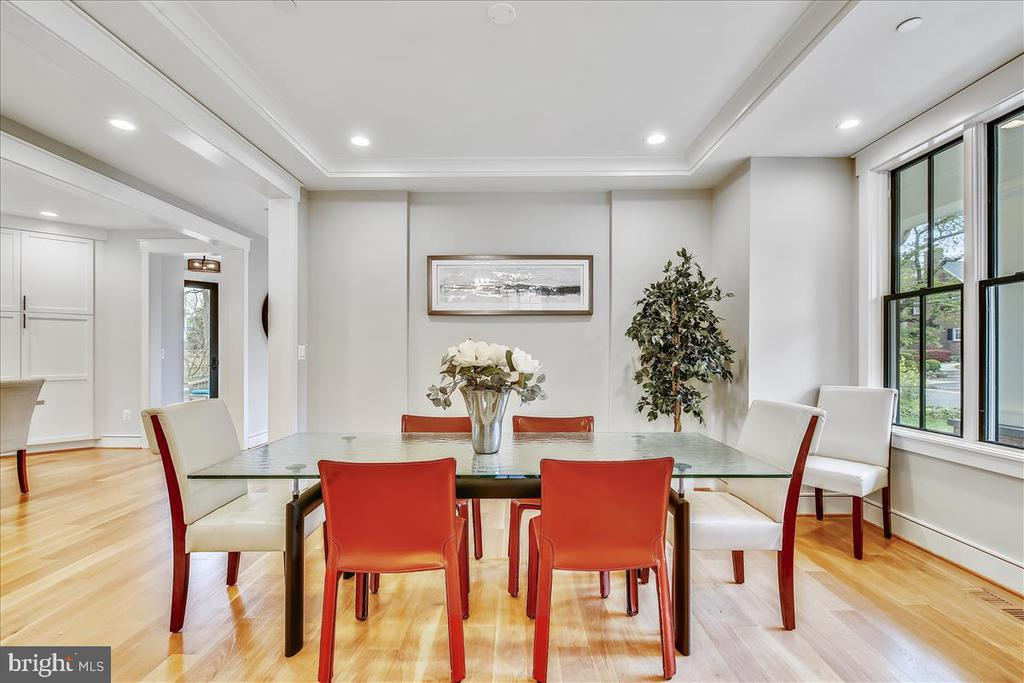 Dining Room - 5100 FAIRGLEN LN, CHEVY CHASE
