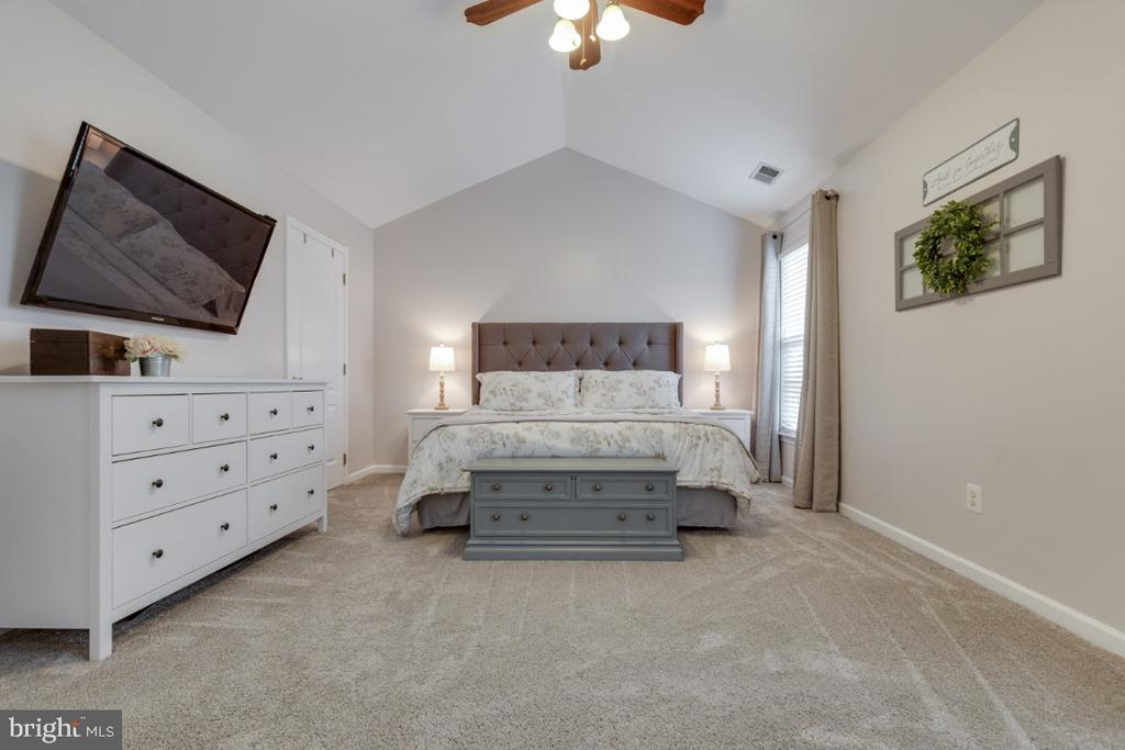 Master Bedroom Suite with Cathedral Ceilings - 43609 DUNHILL CUP SQ, ASHBURN
