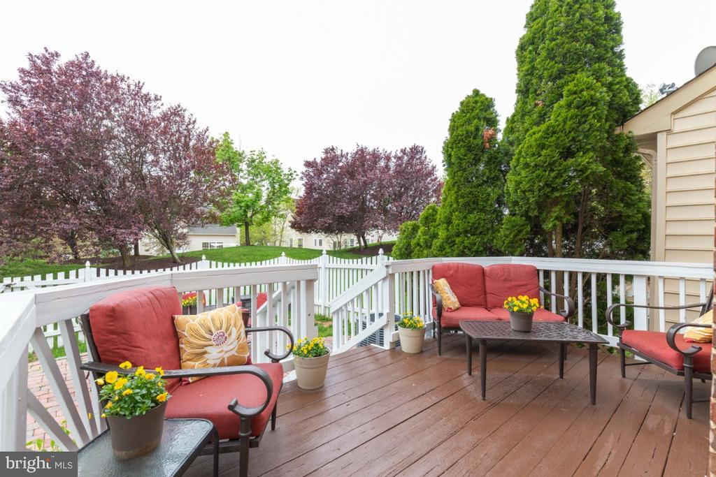 Lovely Deck off the Kitchen - 43609 DUNHILL CUP SQ, ASHBURN