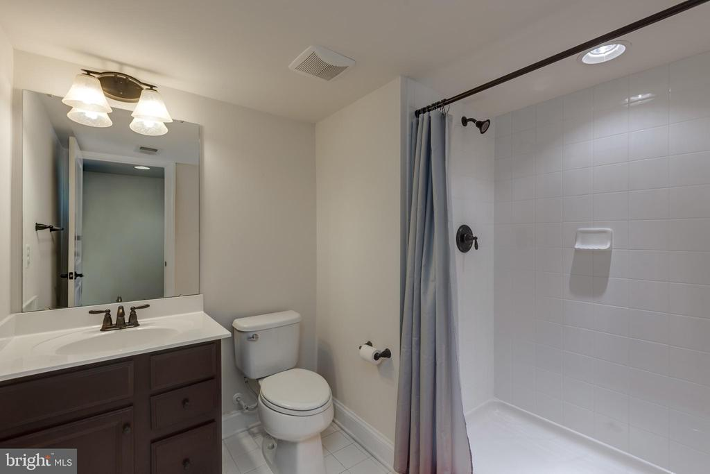 Basement bath - 25916 SYCAMORE GROVE PL, ALDIE