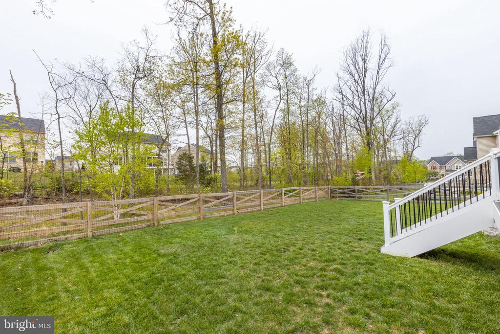 Another view of the fenced yard - 25916 SYCAMORE GROVE PL, ALDIE