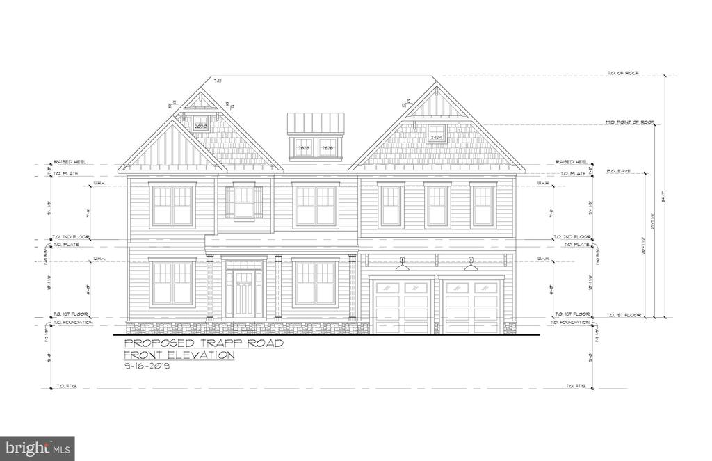 Reel Homes Llc New Construction June Delivery. - 4055 TRAPP RD, FAIRFAX