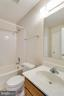 Hall bath - 217 GEORGETOWNE CT, STEPHENS CITY