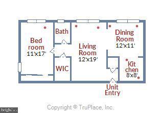 Floor Plan - 2710 MACOMB ST NW #215, WASHINGTON