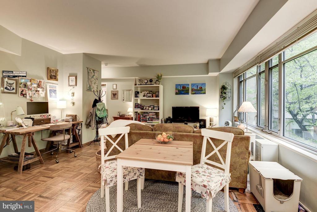 Dining Area - 1711 MASSACHUSETTS AVE NW #214, WASHINGTON