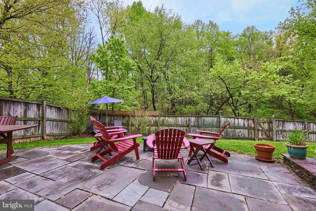 Private Rear Patio - 5809 MAGNOLIA LN, FALLS CHURCH