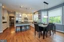 Extensive Kitchen Renovation with honed granite - 5809 MAGNOLIA LN, FALLS CHURCH