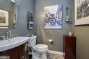 Main Level Powder Room - 5809 MAGNOLIA LN, FALLS CHURCH