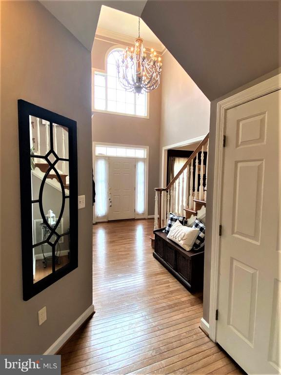 Beautiful entry with 2 story foyer. - 17720 CRICKET HILL DR, GERMANTOWN