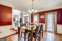 Formal Dining Room for entertaining. - 17720 CRICKET HILL DR, GERMANTOWN
