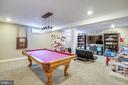 Room for Pool table AND Game area. - 17720 CRICKET HILL DR, GERMANTOWN