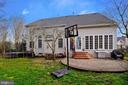 Rear view ~ Patio - 17720 CRICKET HILL DR, GERMANTOWN
