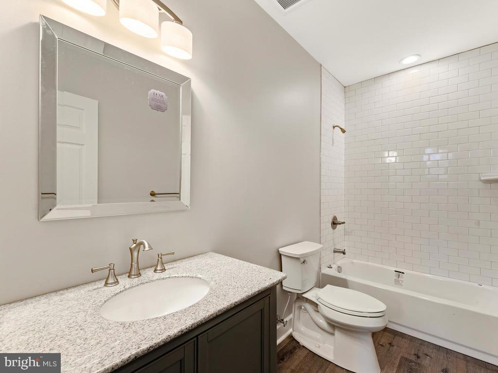 Full bath on recreation room level - 1211 BARBUD LN, ANNAPOLIS