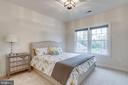 Bedroom 2 with  full bathroom - 1381 BISHOP CREST CT, ALEXANDRIA
