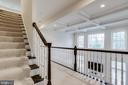 Beautiful tray ceiling and abundance of sunlight - 1381 BISHOP CREST CT, ALEXANDRIA