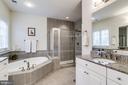 Two vanities, separate tub, shower and w/c - 1381 BISHOP CREST CT, ALEXANDRIA