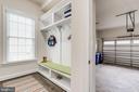 Mudroom. laundry  rm and 2 car garage off kitchen - 1381 BISHOP CREST CT, ALEXANDRIA