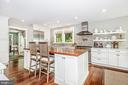 Large prep island also for dining and socializing - 610 BURNSIDE ST, ANNAPOLIS