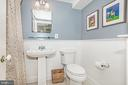 Second full bath on 2nd floor with shower/bath - 610 BURNSIDE ST, ANNAPOLIS