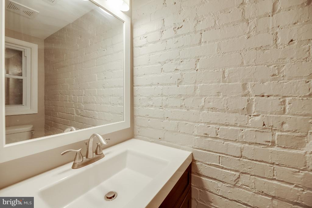 BASMENT INLAW SUITE BATHROOM - 4923 4TH ST NW, WASHINGTON
