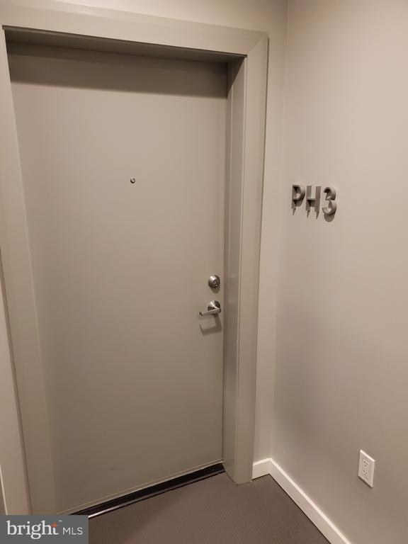 Penthouse Entry Door-  PH3 - 1466 NW HARVARD ST NW #PH-3, WASHINGTON