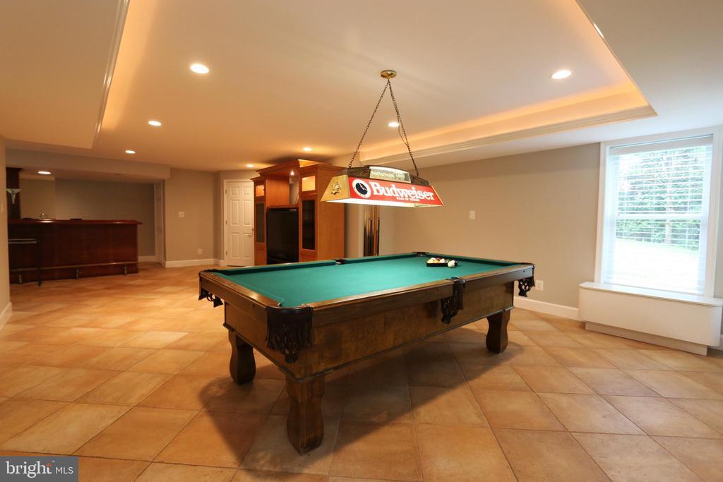 Tray ceiling, fireplace and ceramic floors - 10651 OAKTON RIDGE CT, OAKTON