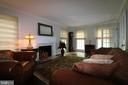 Formal Living Room with fireplace - 10651 OAKTON RIDGE CT, OAKTON