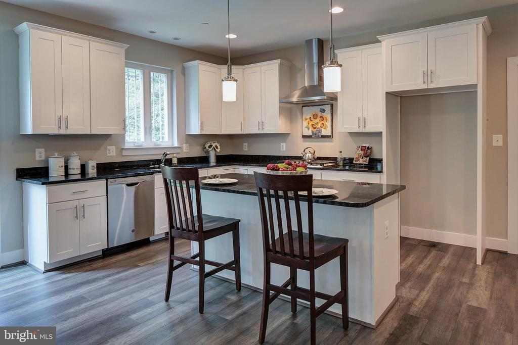 Optional range hood not included in price - 823 CHESTNUT TREE DR, ANNAPOLIS