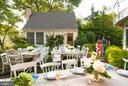 Perfect party venue in the garden - 610 BURNSIDE ST, ANNAPOLIS