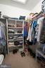 Master walk in closet - 29 BURNS RD, STAFFORD