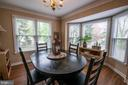Beautiful formal dining room with bay window - 29 BURNS RD, STAFFORD