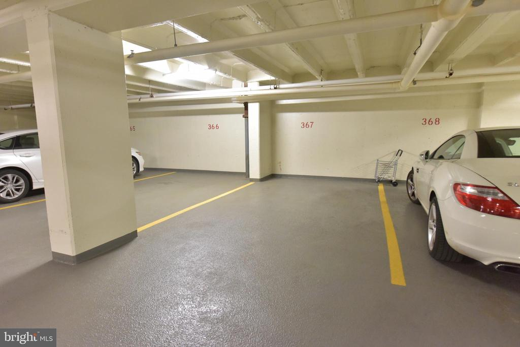 Dedicated garage parking spot - 2801 NEW MEXICO AVE NW #1211, WASHINGTON