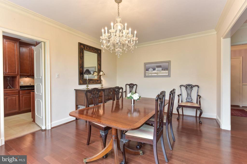 Dining room with access to kitchen - 2801 NEW MEXICO AVE NW #1211, WASHINGTON