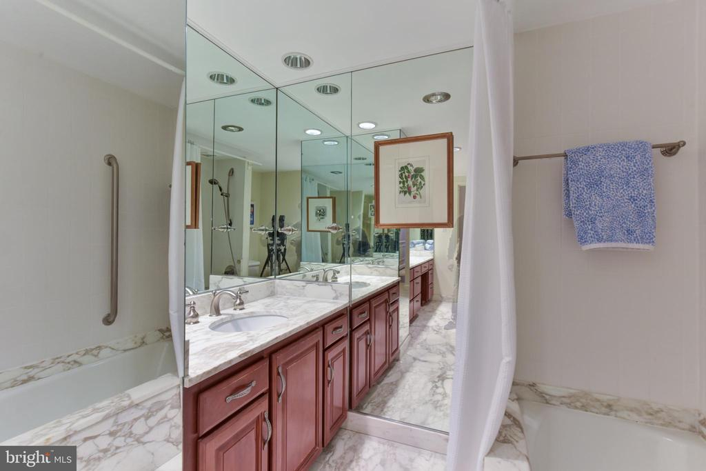 Extra large master bath - 2801 NEW MEXICO AVE NW #1211, WASHINGTON