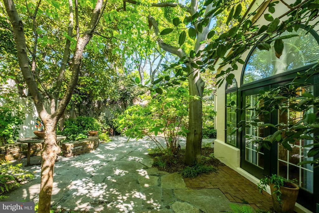 Delightful courtyard at rear of property - 529 4TH ST SE, WASHINGTON