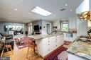 Bright, spacious open kitchen with large island - 529 4TH ST SE, WASHINGTON