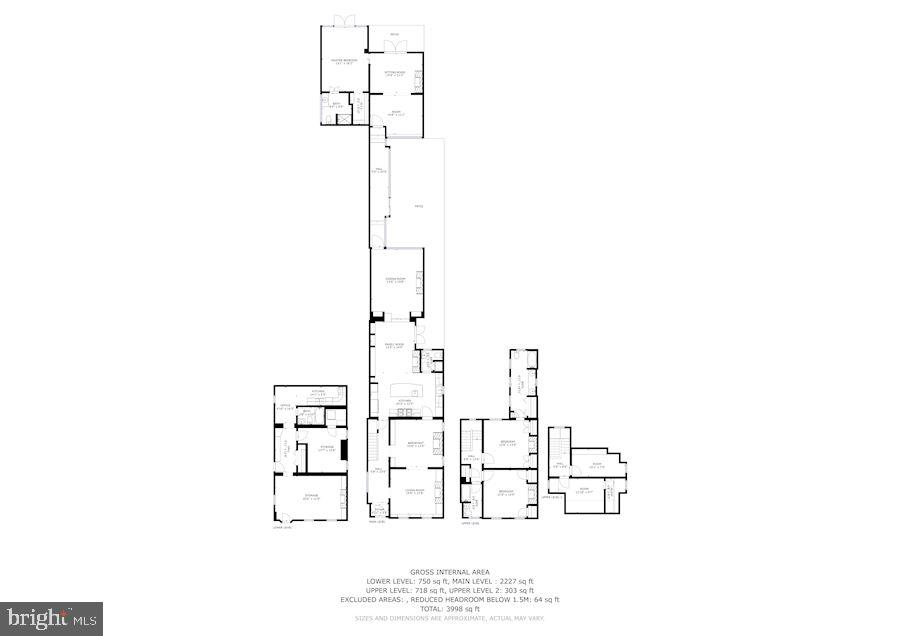 Compete set of floor plans - 529 4TH ST SE, WASHINGTON