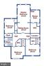 Upper Level Floorplan - 315 WINDOVER AVE NW, VIENNA