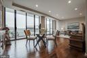 Dining Room to Living Room - 1300 CRYSTAL DR #PH14S, ARLINGTON