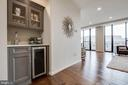 Wet Bar with Beverage Cooler - 1300 CRYSTAL DR #PH14S, ARLINGTON