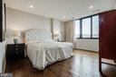Master Bedroom with Wall of Windows - 1300 CRYSTAL DR #PH14S, ARLINGTON