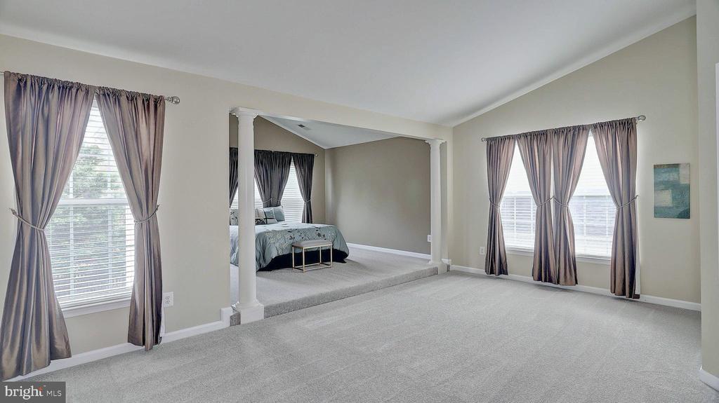 Master Bedroom, new carpet - 43262 LECROY CIR, LEESBURG
